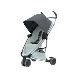 Quinny Kinder-Buggy Buggy Zapp Flex, Blue on Graphite grau