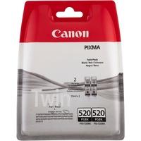 Canon PGI-520BK schwarz 2er Pack