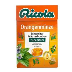 RICOLA o.Z.Box Orangenminze Bonbons 50 g
