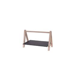 HTI-Living Servierplatte Servierplatte Servierplatte, Schiefer, Holz, (1-tlg)