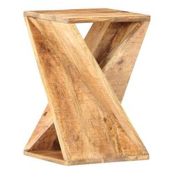 vidaXL Beistelltisch vidaXL Beistelltisch 35 x 35 x 55 cm Massivholz Mango