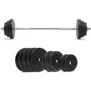 Langhantel Sets 160 cm Hantelset Gewichte Hantelscheiben Set Hanteln 30 mm