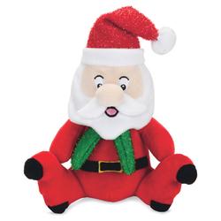Beeztees Weihnachtsspielzeug Plüsch Santa Claus klein