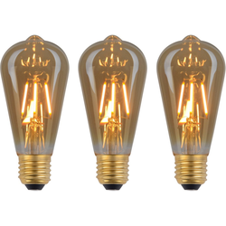 näve LED Leuchtmittel E27/4W 3er-Set LED-Leuchtmittel, E27, 3 Stück, Warmweiß, Set - 3 Stück, dimmbar