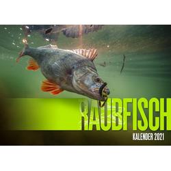 Raubfisch Kalender 2021