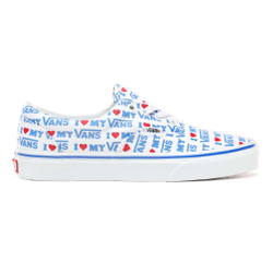 Vans - Ua Era I Heart Vans True White - Sneakers - Größe: 7 US