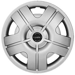 NRM Radzierblende LIDO Silber 14 Zoll 4er Set