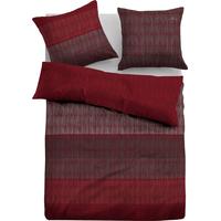 Wendebettwäsche »Linus«, 155x220 cm, rot