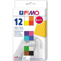 FIMO soft Basic Colours 12 Stück