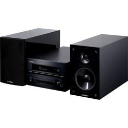 Yamaha MCR-B370D Kompaktanlage (Digitalradio (DAB), FM-Tuner, 40 W) schwarz