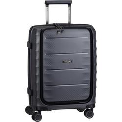 TITAN® Trolley Highlight 4-Wheel Trolley S Front Pocket grau