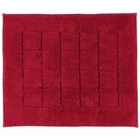 VOSSEN Badeteppich Exclusive rubin 55 x 65 cm