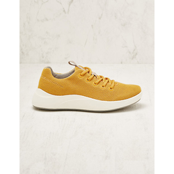 Legero Damen Stoff-Sneaker Marketa curry Turnschuhe