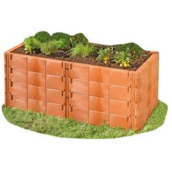 Juwel Hochbeet Profiline Basis-Set Terracotta oder Basaltgrau, Farbe: Basaltgrau