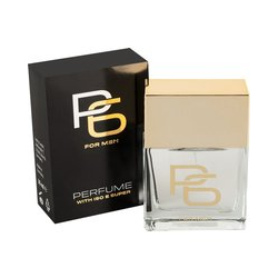"Herrenparfum ""P6 Super"" mit ISO E Super, 25 ml"