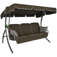 Angerer Comfort Style Design Style taupe 3-Sitzer