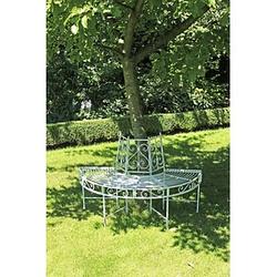 Garden Pleasure Varda Gartenbank weiß