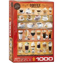 empireposter Puzzle Duftende Kaffee Variationen - 1000 Teile Puzzle im Format 68x48 cm, Puzzleteile