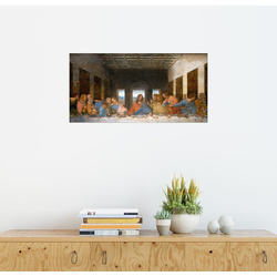 Posterlounge Wandbild, Das Abendmahl 180 cm x 90 cm