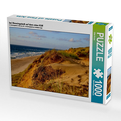 bei Wenningstedt auf dem roten Kliff Lege-Größe 64 x 48 cm Foto-Puzzle Bild von Elke Krone Puzzle