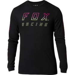 Tshirt FOX - Neon Moth Ls Tee Black (001)