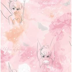 Papiertapete Tinkerbell Watercolour, 10 m x 53 cm bunt
