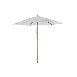 Outsunny Sonnenschirm Sonnenschirm 3-stufig verstellbar weiß