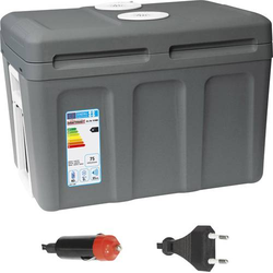 Dino KRAFTPAKET KRAFTPAKET Kühlbox Trolley EEK: A++ (A+++ - D) Thermoelektrisch 230 V, 12V Grau 40l