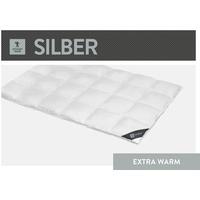 """Spessarttraum Silber, extra warm, Winterdecke """"135x200 cm"""