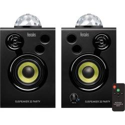 Hercules DJSpeaker 32 Party Aktiver Monitor-Lautsprecher 7.6cm 3 Zoll 30W 1 Paar