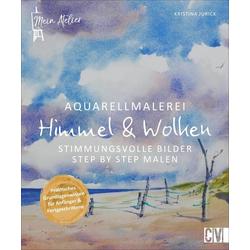 Mein Atelier Aquarellmalerei - Himmel & Wolken: Buch von Kristina Jurick