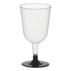 Einweg-Rotweinglas »Invitation« transparent, Papstar, 13.55 cm