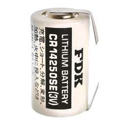 Sanyo Lithium Batterie CR14250 SE 1/2AA, IEC CR14250, U-Lötfahne