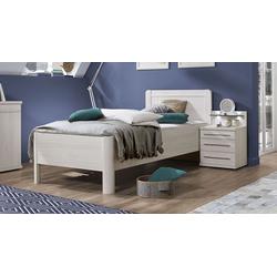 Bett 100x200 cm Bettrahmenhöhe 48  cm -  ohne Bettschubkasten - Apolda