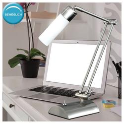 WOFI Schreibtischlampe, Tischleuchte Tisch Lampe Schalter beweglich Büro Schreibtisch WOFI KATAR 8521.01.64.0000