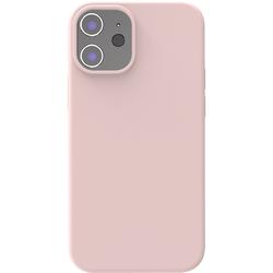 Azuri Backcover iPhone 12 Mini Silikon-Backcover in Rosa