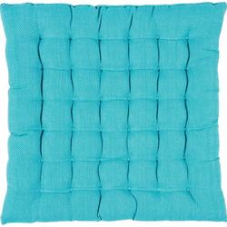 PAD Sitzkissen RISOTTO, in unifarben blau