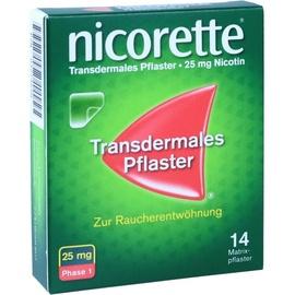 Nicorette TX 25 mg Pflaster 14 St.