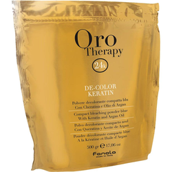 Fanola Oro Therapy De-Color Keratin Blondierpulver