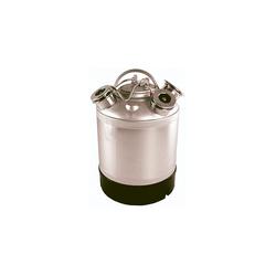ich-zapfe Bierzapfanlage Reinigungsbehälter Edelstahl für 1 Fitting - Fittinge austauschbar *ohne Fittinge*
