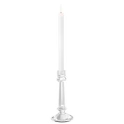 Casa Padrino Kristallglas Kerzenständer Durchmesser 11 x H. 24 cm - Luxus Kerzenständer