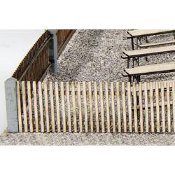 MBZ 80013 H0 Gartenzaun Bausatz, Unbemalt