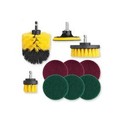CLEANmaxx Bürste, Bürstenaufsatz-Set für Bohrmaschinen