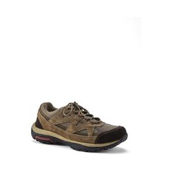 Trekking-Schuhe, Herren, Größe: 44.5 Normal, Braun, Leder, by Lands' End, Shiitake - 44.5 - Shiitake