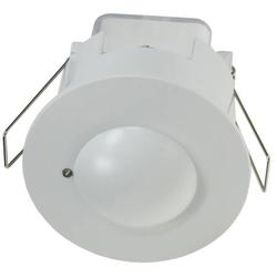 HF Bewegungsmelder Deckeneinbau weiß 62 bis 68mm 360° 230V LED geeignet weiß