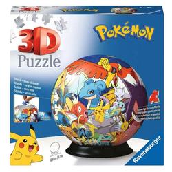 Ravensburger 3D-Puzzle Pokémon 3D Puzzle Ball (72 Teile), Puzzleteile
