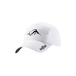 sailfish Baseball Cap Running Cap weiß