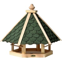 Dobar Vogelhaus aus Holz braun/grün