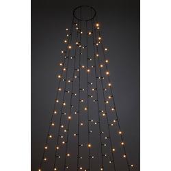 KONSTSMIDE LED-Lichterkette Baummantel mit Ring und 8 Strängen 7,4 m