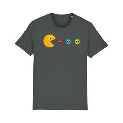 wat? Apparel Print-Shirt Pacmännchen XL